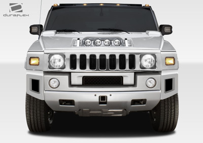 Hummer H2 BR-N Duraflex Front Add On Body Kit 2003-2009