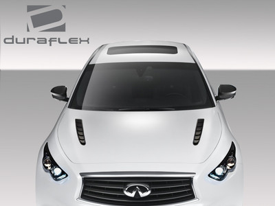 Infiniti FX CT-R Duraflex Body Kit- Hood 2009-2015