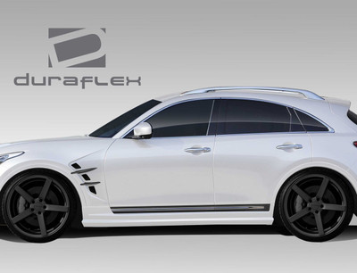 Infiniti FX CT-R Duraflex Side Skirts Body Kit 2009-2015