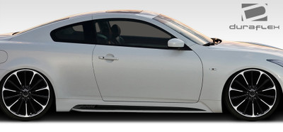 Infiniti G Coupe 2DR Elite Duraflex Side Skirts Body Kit 2008-2015