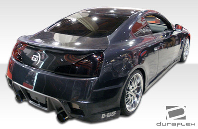 Infiniti G Coupe 2DR GT Concept Duraflex Rear Body Kit Bumper 2008-2015