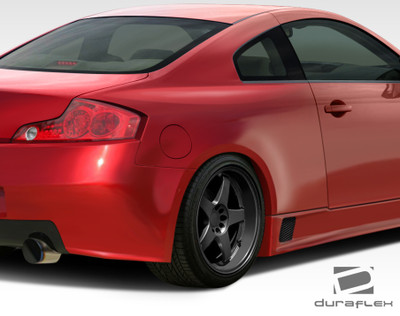 Infiniti G Coupe 2DR GT500 Duraflex Body Kit- Wide Fenders 2003-2007