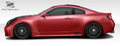 Infiniti G Coupe 2DR GT500 Duraflex Side Skirts for Wide Body Kit 2003-2007
