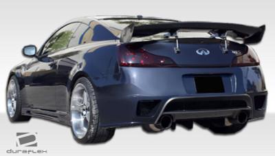 Infiniti G Coupe 2DR GT-R Duraflex Rear Body Kit Bumper 2008-2015