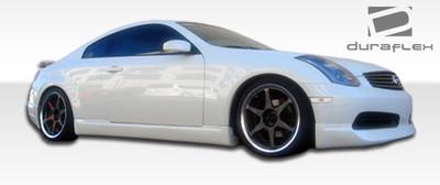 Infiniti G Coupe 2DR I-Spec Duraflex Side Skirts Body Kit 2003-2007