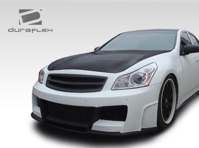 Infiniti G Sedan Elite Duraflex Front Body Kit Bumper 2007-2009