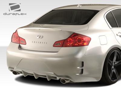 Infiniti G Sedan Elite Duraflex Rear Body Kit Bumper 2007-2013
