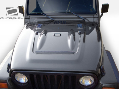Jeep Wrangler Heat Reduction Duraflex Body Kit- Hood 1997-2006