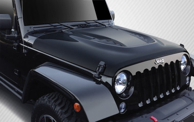 Jeep Wrangler Power Dome Carbon Fiber Creations Body Kit- Hood 2007-2015