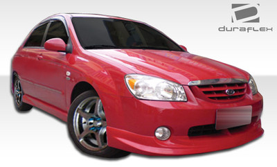 Kia Spectra Shadow Duraflex Front Bumper Lip Body Kit 2005-2006