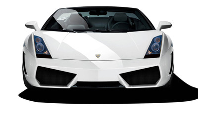 Lamborghini Gallardo AF-1 Aero Function Front Wide Body Kit Bumper 2004-2008