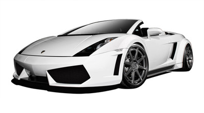 Lamborghini Gallardo AF-1 Aero Function Full Wide Body Kit 2004-2008