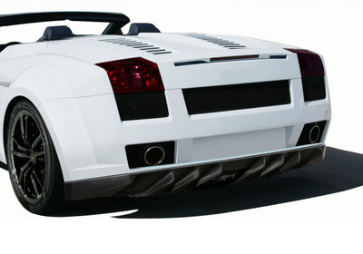 Lamborghini Gallardo AF-1 Aero Function Rear Wide Body Kit Bumper 2004-2008