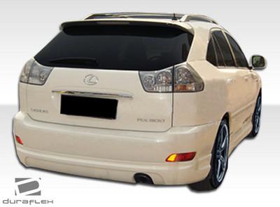 Lexus RX W-1 Duraflex Rear Body Kit Bumper 2004-2009