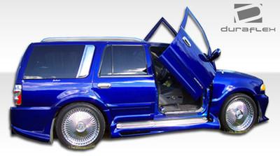 Lincoln Navigator Platinum Duraflex Side Skirts Body Kit 1998-2002