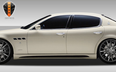 Maserati Quattroporte Eros Version 1 Duraflex Side Skirts Body Kit 2005-2007