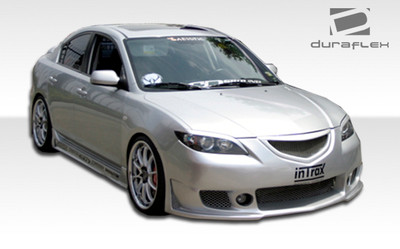 Mazda 3 4DR B-2 Duraflex Full Body Kit 2004-2008