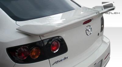Mazda 3 4DR I-Spec Duraflex Body Kit-Wing/Spoiler 2004-2009