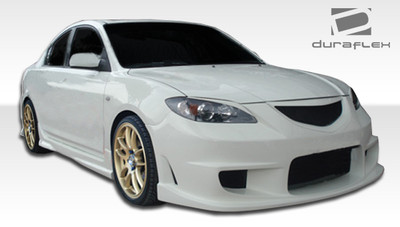 Mazda 3 4DR I-Spec Duraflex Full 4 Pcs Body Kit 2004-2009