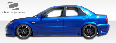 Mazda Protege B-2 Duraflex Side Skirts Body Kit 1999-2003
