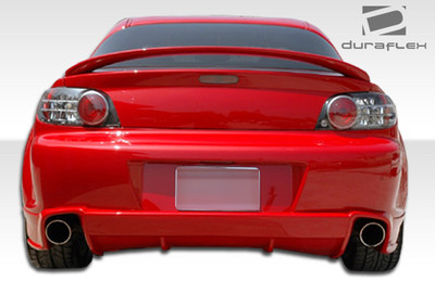 Mazda RX-8 M-1 Urethane Rear Body Kit Bumper 2004-2011