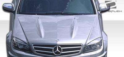 Mercedes C Class C63 Look Duraflex Body Kit- Hood 2008-2011
