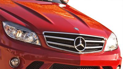 Mercedes C Class C63 Look Vaero Grille 2008-2011