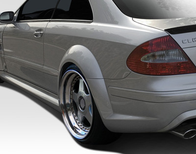 Mercedes CLK Black Series Duraflex Wide Fender Flares 2003-2009