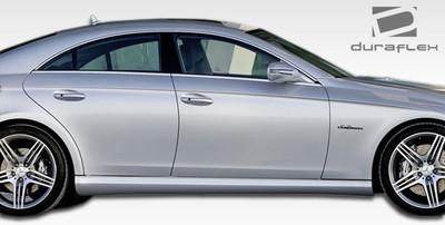 Mercedes CLS AMG Look Duraflex Side Skirts Body Kit 2006-2011
