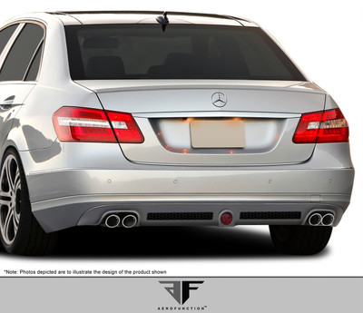 Mercedes E Class AF-1 Aero Function Front Bumper Lip Body Kit 2010-2012