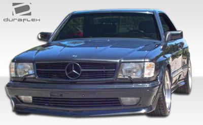 Mercedes S Class 2DR AMG Look Duraflex Front Wide Body Kit Bumper 1981-1991
