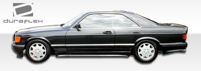 Mercedes S Class 4DR AMG Look Duraflex Side Skirts Body Kit 1981-1991