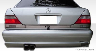Mercedes S Class W-1 Duraflex Rear Body Kit Bumper 1992-1999