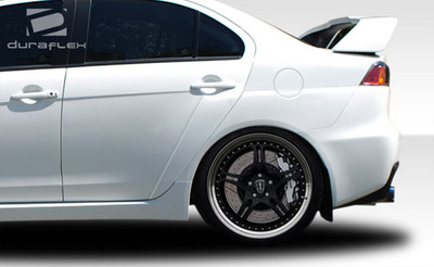 Mitsubishi Lancer Evo X Look Duraflex Body Kit- Fenders 2008-2015