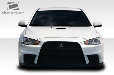 Mitsubishi Lancer Evo X Look Duraflex Front Body Kit Bumper 2008-2015