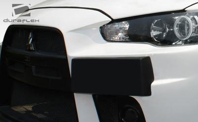 Mitsubishi Lancer Evo X Look Duraflex Plate Frame 2008-2015