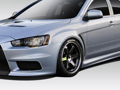 Mitsubishi Lancer Evo X V3 Duraflex Body Kit- Fenders 2008-2015