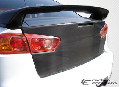 Mitsubishi Lancer OEM Carbon Fiber Creations Body Kit-Trunk/Hatch 2008-2015