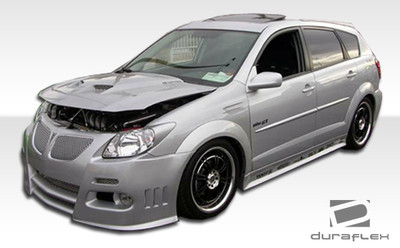 Pontiac Vibe Graphite Duraflex Full 4 Pcs Body Kit 2003-2008