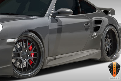Porsche 997 Eros Version 1 Duraflex Side Skirts Body Kit 2005-2012