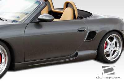 Porsche Boxster G-Sport Duraflex Side Skirts Body Kit 1997-2004