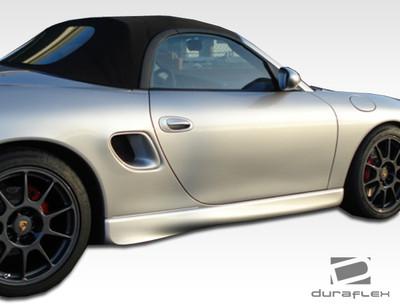 Porsche Boxster GT-3 Duraflex Side Skirts Body Kit 1997-2004