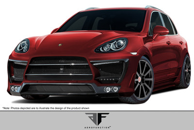 Porsche Cayenne AF-1 Aero Function Full 34 Pcs Wide Body Kit 2011-2014