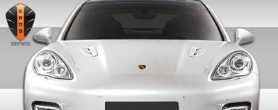 Porsche Panamera Eros Version 1 Hood Duraflex Scoop 2010-2015