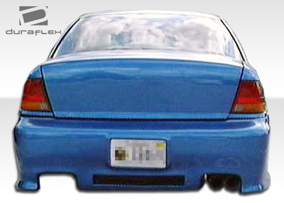 Saturn SL - Saturn Spyder Duraflex Rear Body Kit Bumper 1996-2002