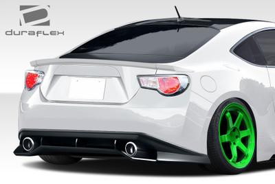 Scion FR-S GT Concept Duraflex Rear Body Kit Bumper 2013-2015