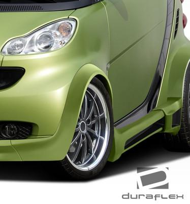 Smart ForTwo GT300 Duraflex Body Kit- Wide Fenders 2008-2015