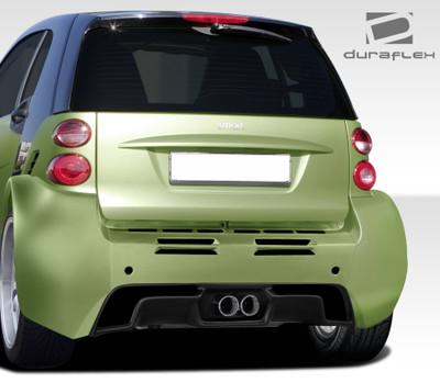 Smart ForTwo GT300 Duraflex Rear Wide Body Kit Bumper 2008-2015