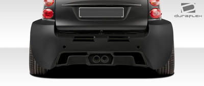 Smart ForTwo GT300 Duraflex Rear Wide Diffuser 2008-2015