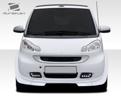 smart fortwo fx duraflex front bumper lip body kit 2008 2015. Black Bedroom Furniture Sets. Home Design Ideas